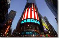AEG's NASDAQ LED Sign